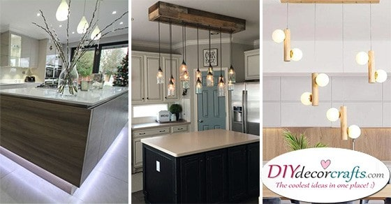 20 MODERN KITCHEN ISLAND LIGHTING - Modern Pendant Lighting for Kitchen Island