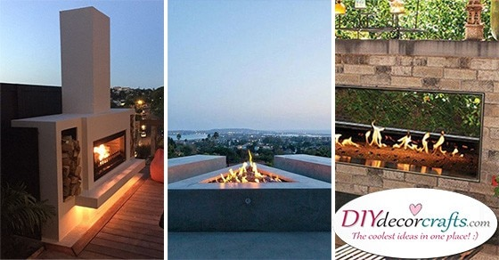 20 MODERN OUTDOOR FIREPLACES - Outdoor Fire Pits
