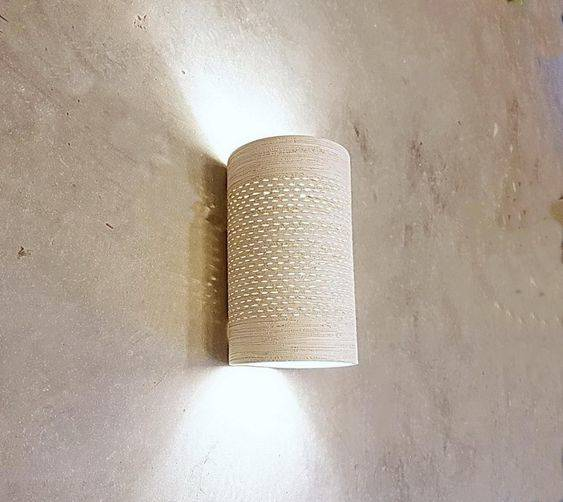 A Cylindrical Sconce - Easy and Practical