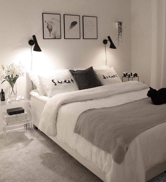 Black and White - Edgy and Decorative Lights for Bedroom
