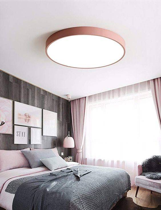 A Circular Ceiling Light - Refined and Modern
