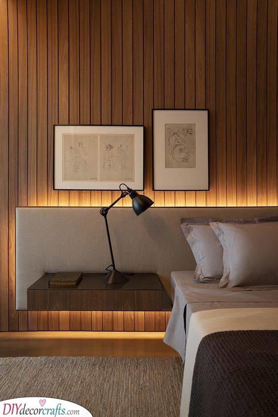 The Best Bed Headboard - Best Lighting for Bedroom