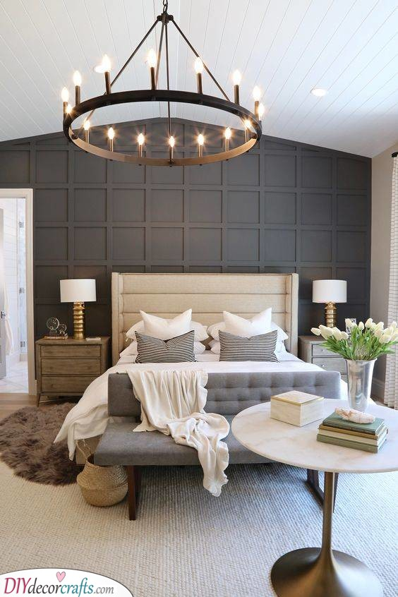 A Contemporary Chandelier - Chic and Stylish