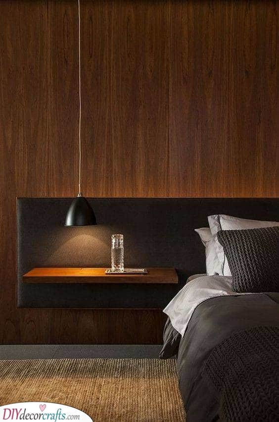Minimalist and Simplistic - Hanging Lights for Bedroom