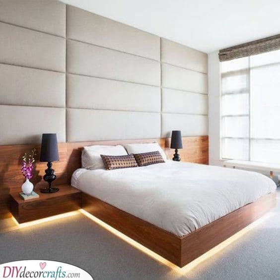 Right Under the Bed - Decorative Lights for Bedroom