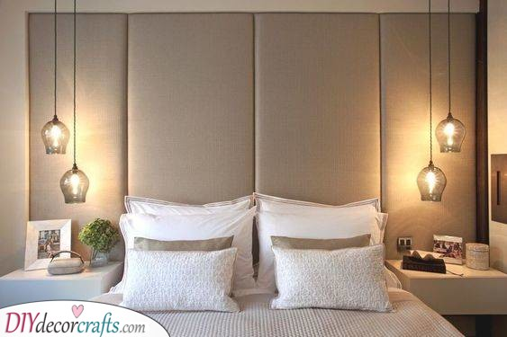 Awesome Glass Lampshades - Best Lighting for Bedroom