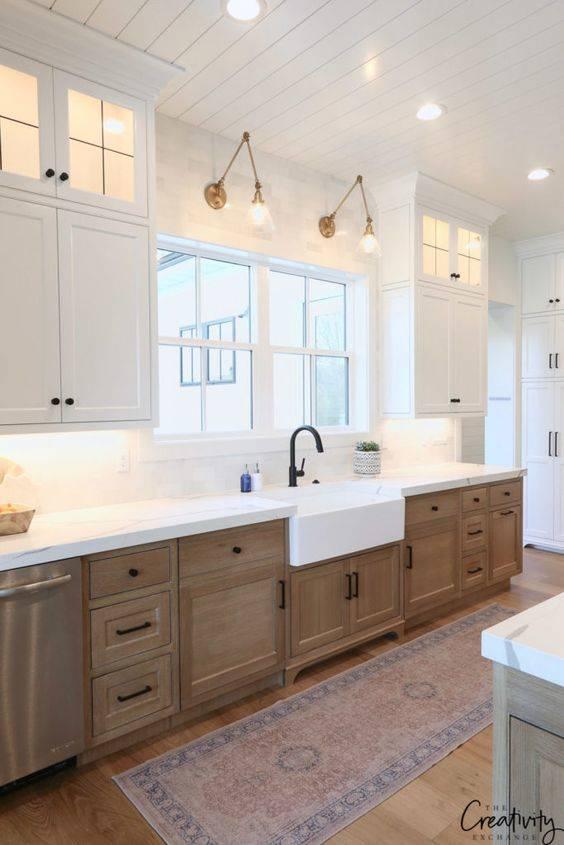 A Modern Farmhouse Design - Kitchen Cabinet Lighting