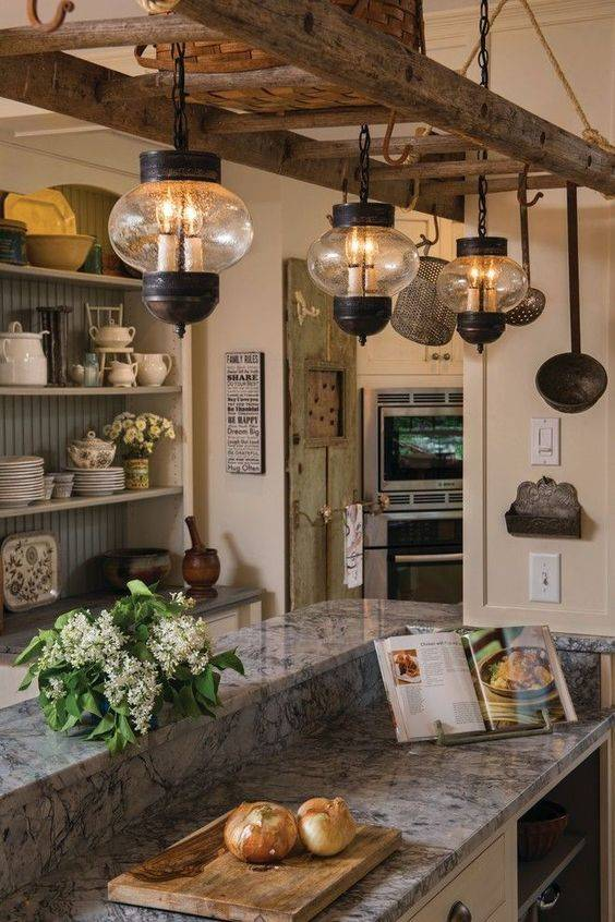 A Rustic Ambience - Vintage and Old-fashioned