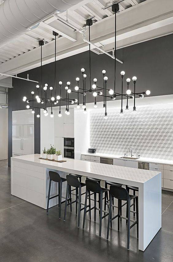 A Contemporary Chandelier - Chic and Sleek