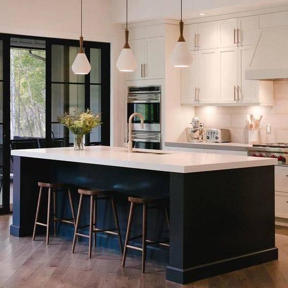 The Colour Plan - Modern Pendant Lighting for Kitchen Island