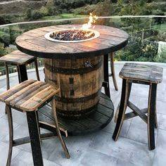 Rustic and Groovy - Outdoor Fire Pits