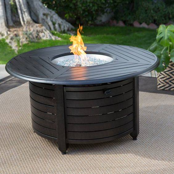 Edgy in Black - Modern Outdoor Fireplaces