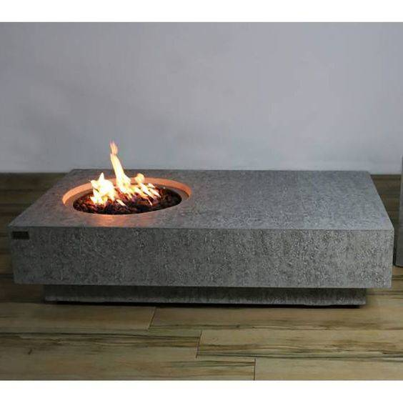 Minimalism at its Best - Another Fire Pit Table