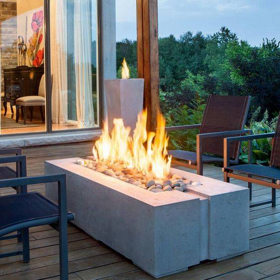 Innovative and New - Outdoor Fire Pits