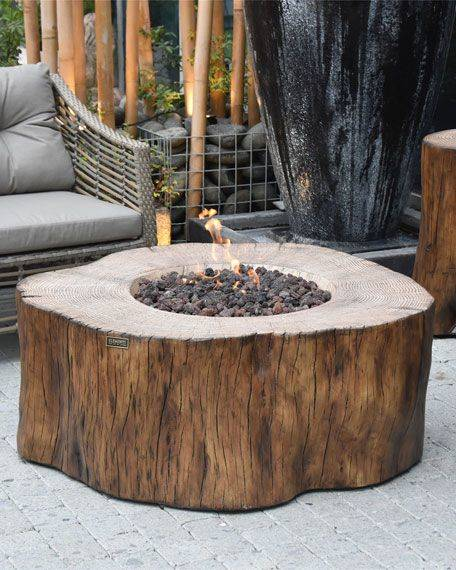 For an Earthy Vibe - Outdoor Fire Pits