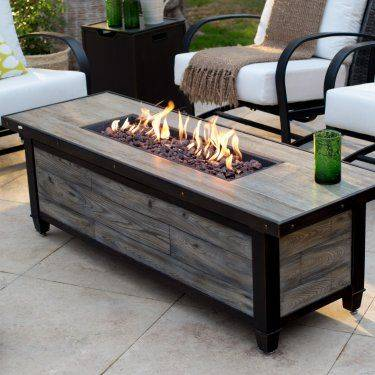 A Coffee Table - With an Additional Fireplace