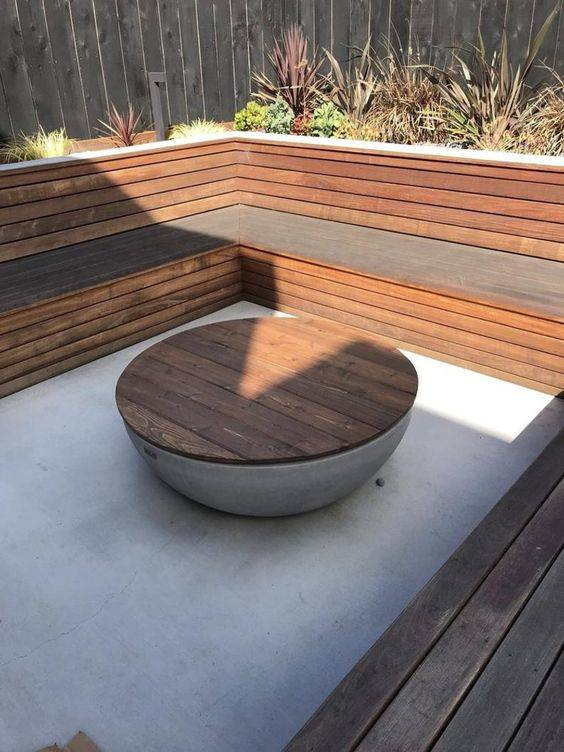 Working with Wood - Outdoor Fire Pits
