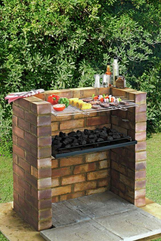 Grilling in Your Garden - Outdoor Grilling Station Ideas