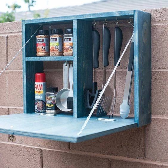 A Small Cabinet - For Your Kitchen Utensils