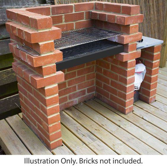 Built out of Bricks - Outdoor Grill Island Ideas