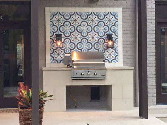 A New Aesthetic - Outdoor Grill Ideas