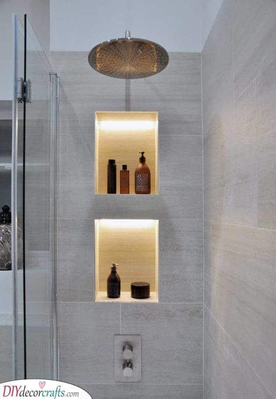 Dreamy and Dazzling - Modern Bathroom Lighting