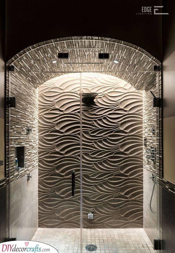 Interesting Lights - For a Stunning Shower