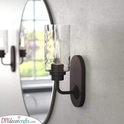 Simple Wall Sconces - Easy and Vintage