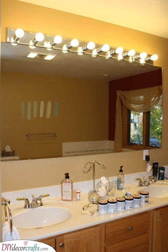 Illuminate the Mirror - Best Lighting for Bathroom