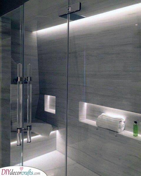 Highlight the Details - Modern Bathroom Lighting