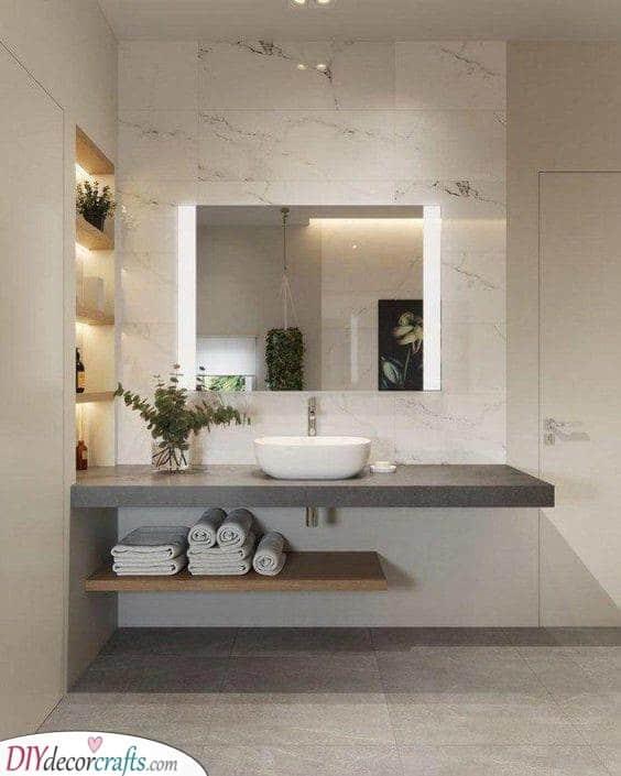 Amazing and Elegant - Brighten Up Your Bathroom