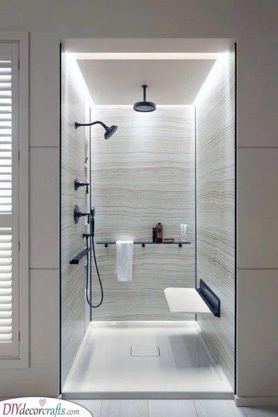 Illuminate the Shower - Led Shower Light