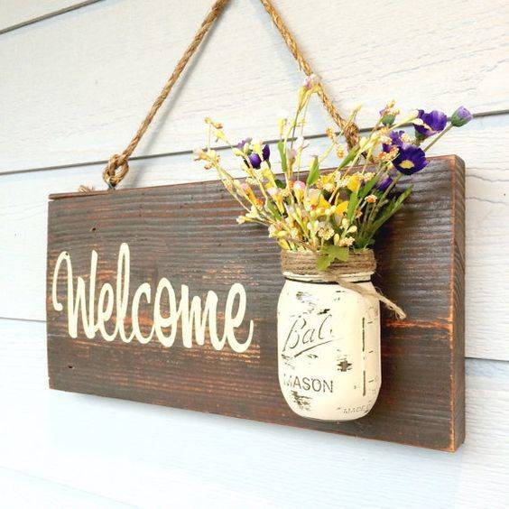 For the Welcome Sign - Beautiful and Brilliant