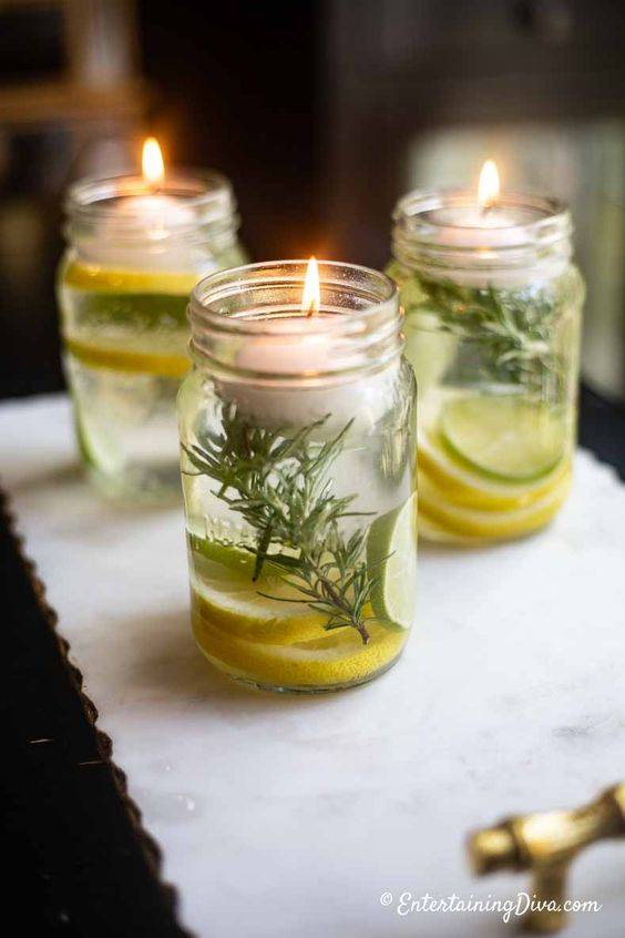 Cleansing Citronella Candles - A Mosquito Repellent