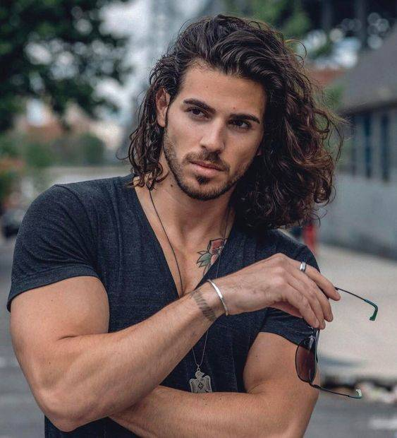 Curly Hairstyles for Men - Curly and Wavy Hair Ideas