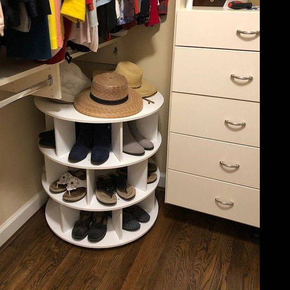 Shoe Storage Ideas - For Small Spaces