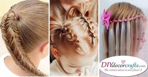 25 EASY LITTLE GIRL BRAIDS - Little Girl Braid Styles