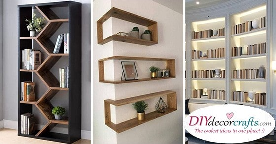 25 BEDROOM BOOKSHELF IDEAS - A Pick of Bookshelf Designs