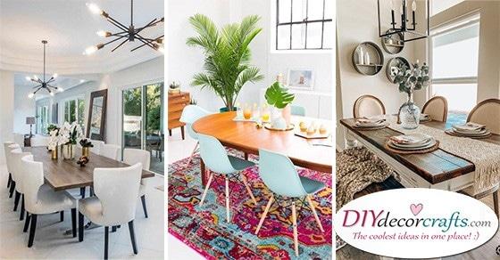 20 DINING ROOM DESIGN IDEAS - Modern Dining Room Ideas
