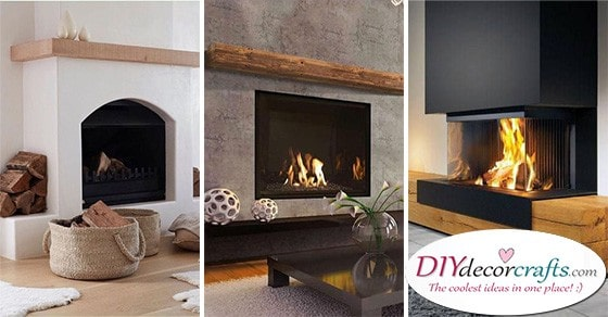 20 FIREPLACE DESIGN IDEAS - Living Room Ideas with Fireplace