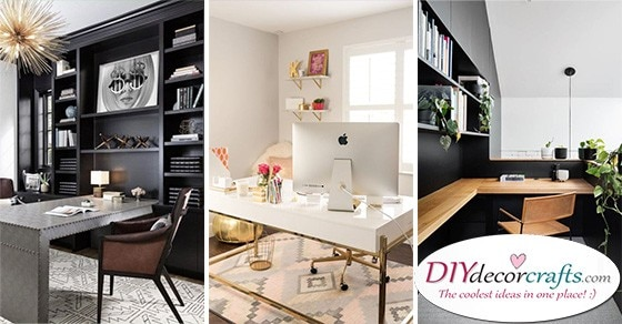 25 HOME OFFICE INTERIOR DESIGN IDEAS - Modern Home Office Design