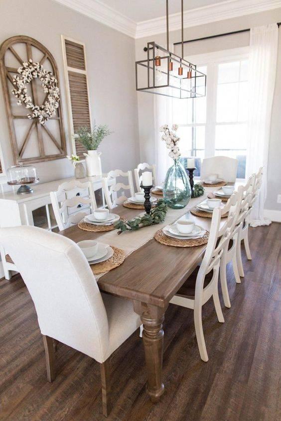 A Modern Farmhouse - Dining Room Design Ideas
