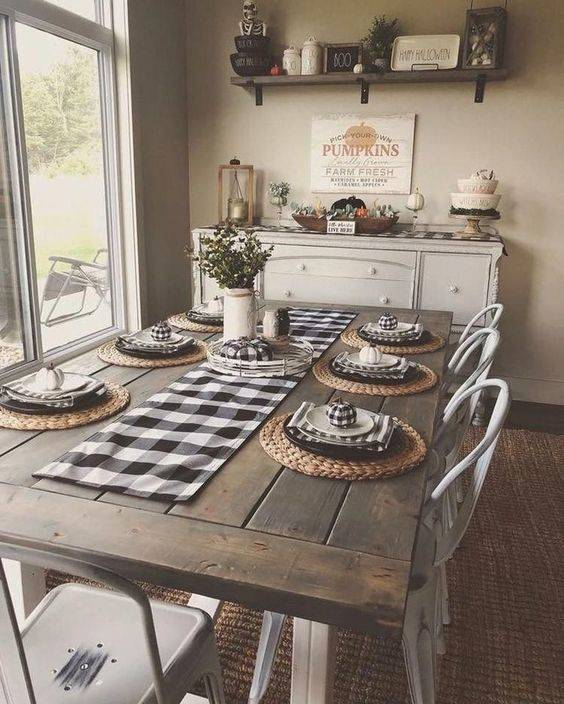 Fabulous in Farmhouse - Dining Room Decor Ideas