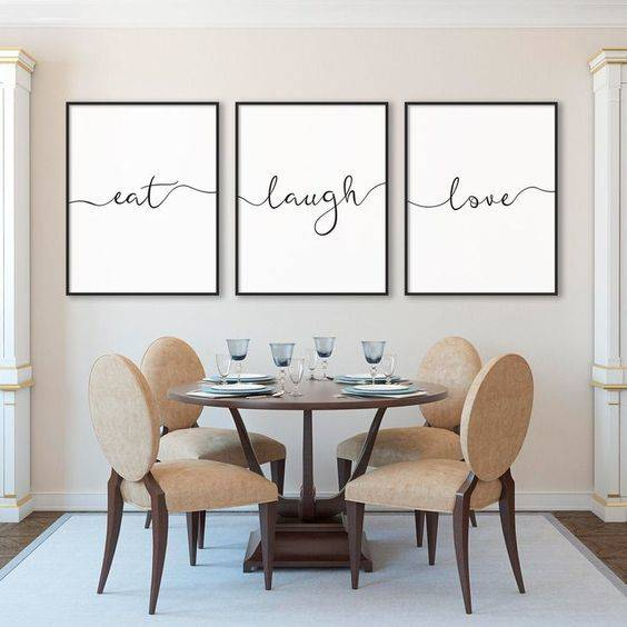 A Circular Table - Modern Dining Room Ideas