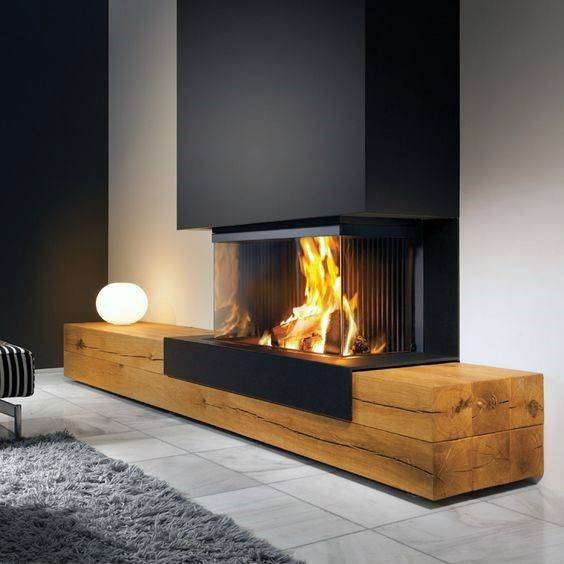 Innovative and Luxurious - Modern Fireplace Ideas