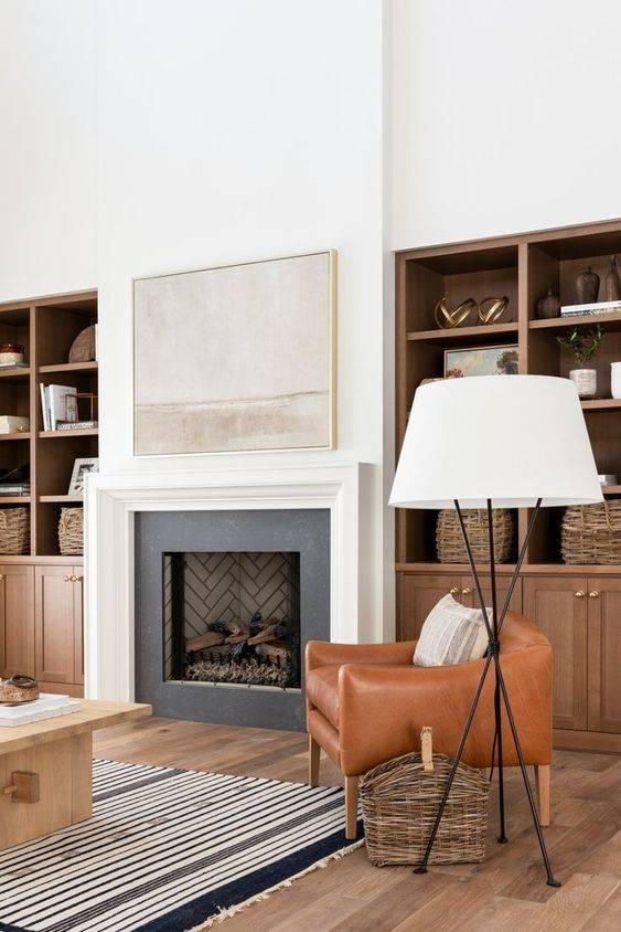 Keeping it Simple - Living Room Ideas with Fireplace