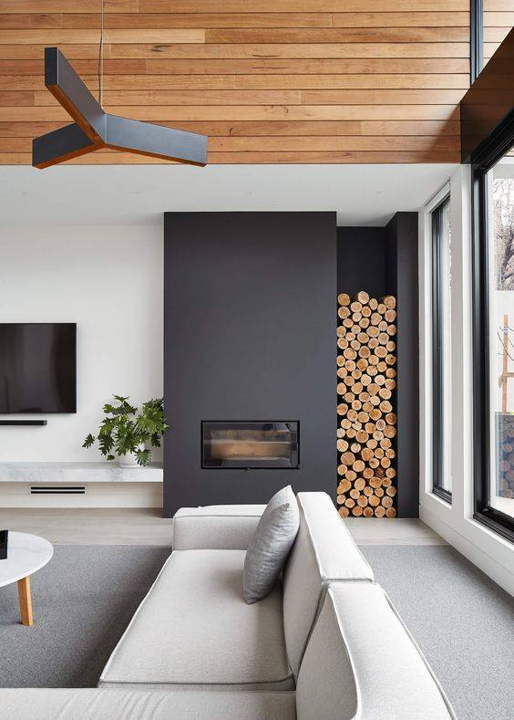 A Space for Firewood - Storage Space