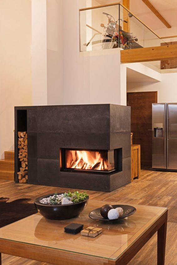 Unique and Unusual - Living Room Ideas with Fireplace