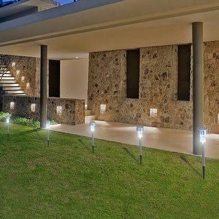 Using Solar Energy - Garden Lighting Ideas