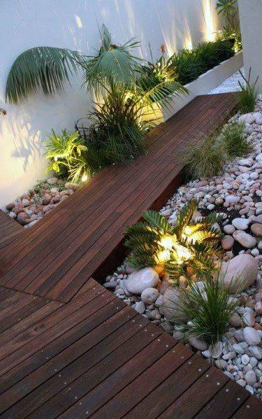 From Underneath the Plants - Garden Lighting Ideas